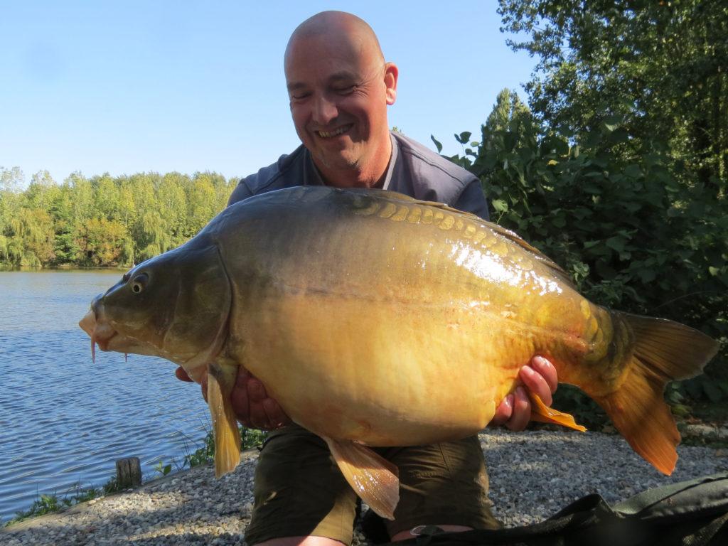 60 lbs carp france